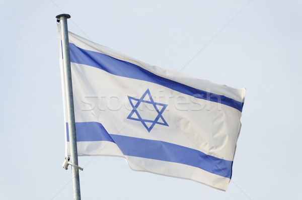 Israeli flag Stock photo © dutourdumonde