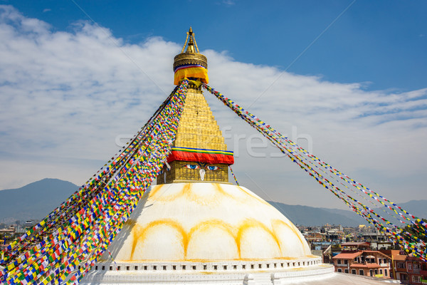 Boudhanath stupa in Kathmandu Stock photo © dutourdumonde