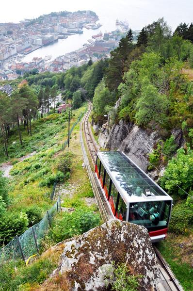 Bergen funicular Stock photo © dutourdumonde