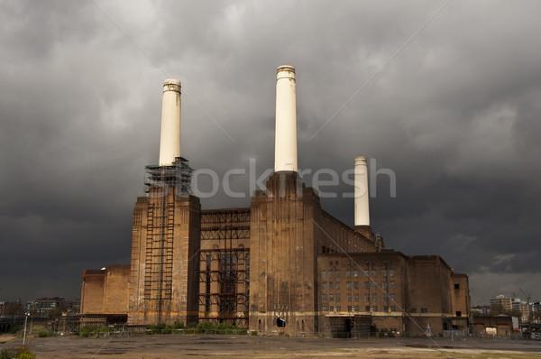 Battersea power station in London Stock photo © dutourdumonde