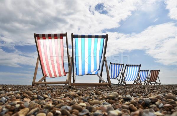 Strand lege voorjaar zee zomer oceaan Stockfoto © dutourdumonde