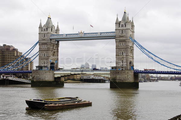 Tower Bridge Londres rio inglaterra céu Foto stock © dutourdumonde