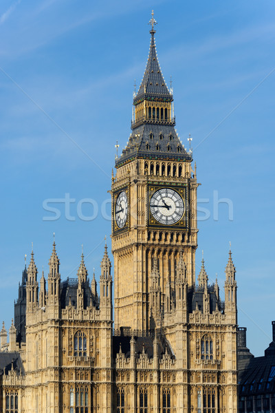 The Clock Tower in London Stock photo © dutourdumonde