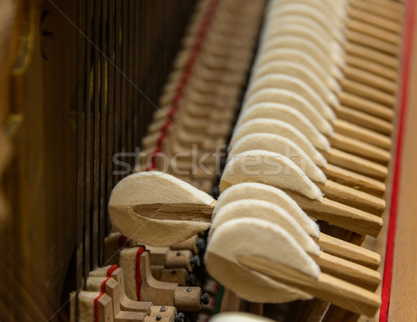 Piano mechanism Stock photo © dutourdumonde