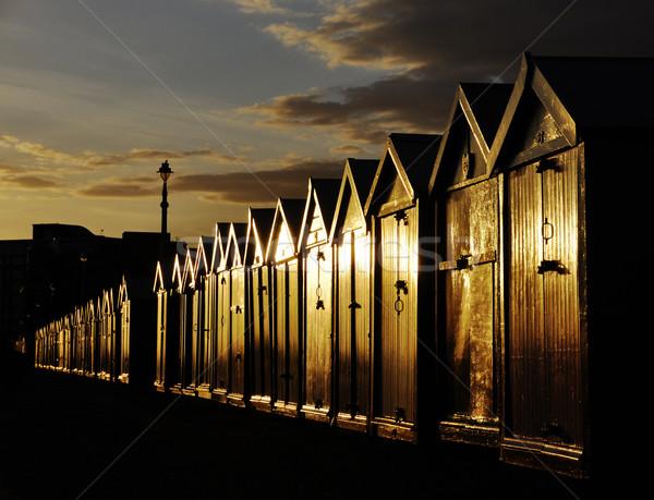 Beach huts Stock photo © dutourdumonde