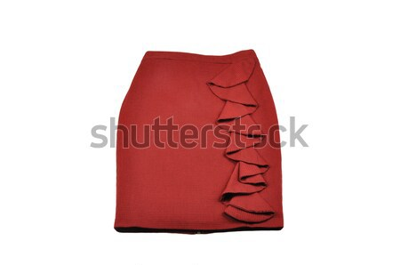 Skirt on white background Stock photo © dutourdumonde