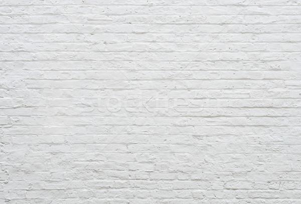 白 レンガの壁 テクスチャ 塗料 背景 スペース ストックフォト © dutourdumonde