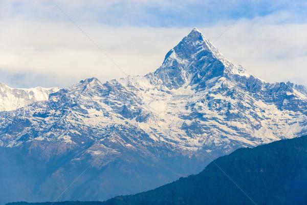 The Machhapuchhre in the Annapurna region Stock photo © dutourdumonde