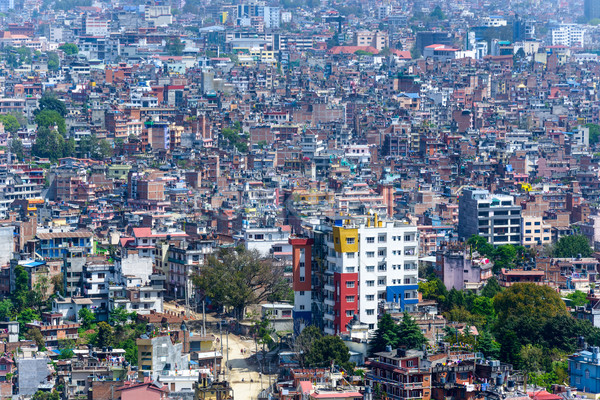 Kathmandu city in Nepal Stock photo © dutourdumonde