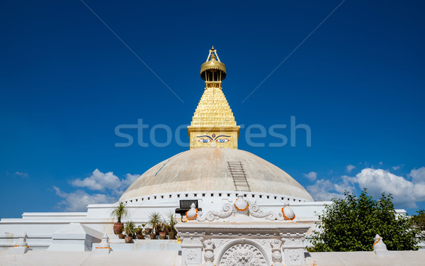 Stock photo: Boudhanath stupa in Kathmandu