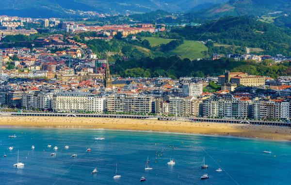 Spanje land water stad landschap zee Stockfoto © dutourdumonde