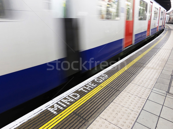 London underground Stock photo © dutourdumonde