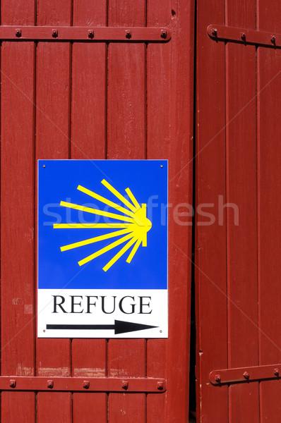 にログイン サンティアゴ フランス 赤 情報 シェル ストックフォト © dutourdumonde