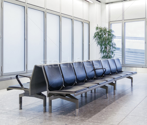 空っぽ 空港 ラウンジ 光 ウィンドウ ルーム ストックフォト © dutourdumonde