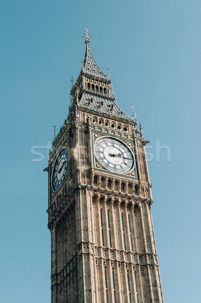 The Clock Tower in London Stock photo © dutourdumonde