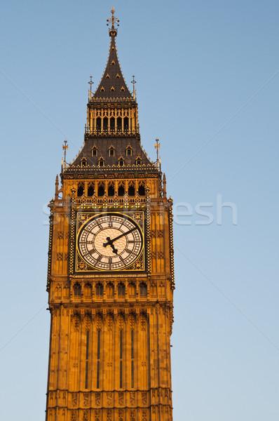 óra torony London város utazás városi Stock fotó © dutourdumonde