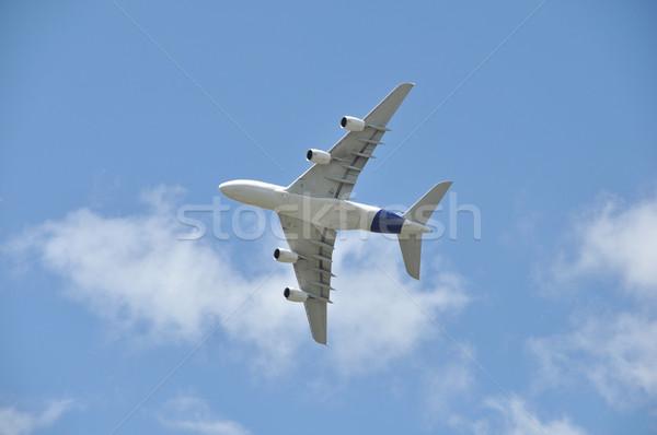 Repülés égbolt repülőgép szolgáltatás fehér mérleg Stock fotó © dutourdumonde