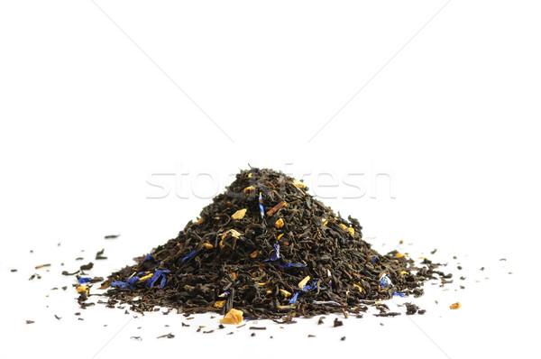 Scented tea on white Stock photo © dutourdumonde