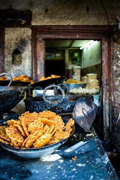 Jilebis in a dessert shop in Kathmandu Stock photo © dutourdumonde