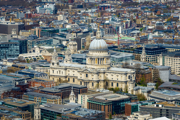 Stock photo: St Paul's cathedral in London