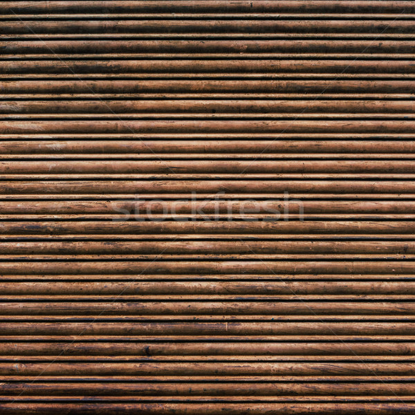 Rusty iron curtain texture Stock photo © dutourdumonde