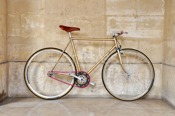 Fixed gear bicycle Stock photo © dutourdumonde
