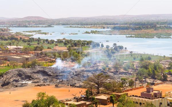 Bamako in Mali Stock photo © dutourdumonde
