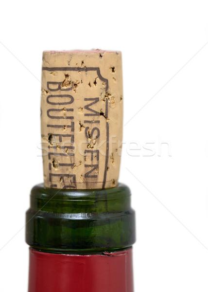 Bottle of wine cork Stock photo © dutourdumonde
