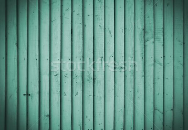 Zümrüt ahşap duvar mükemmel doku ev Stok fotoğraf © dutourdumonde