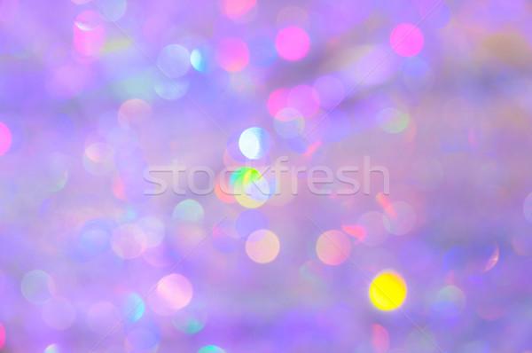 Colorido bokeh resumen Navidad vacaciones textura Foto stock © dutourdumonde