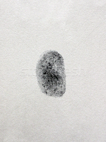 A fingerprint Stock photo © dutourdumonde