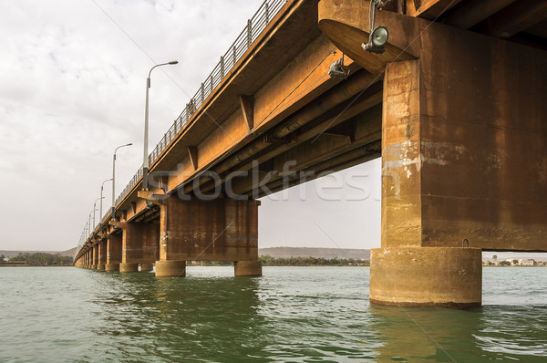 Martyrs Bridge (Pont des martyrs) in Bamako Stock photo © dutourdumonde