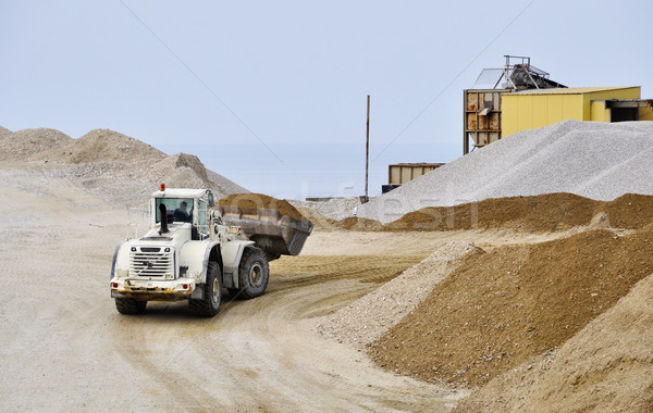 A bulldozer Stock photo © dutourdumonde