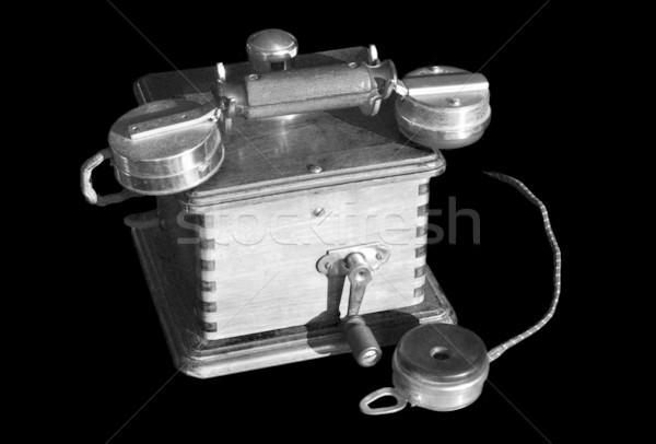 Vintage telephone Stock photo © dutourdumonde