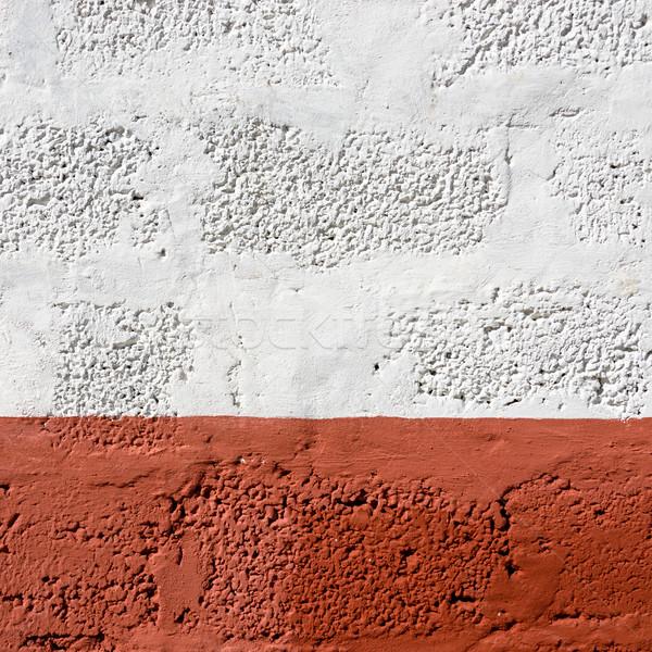 Red and white wall texture Stock photo © dutourdumonde