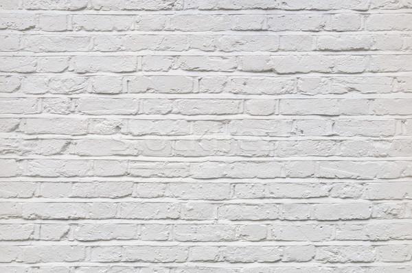白 レンガの壁 テクスチャ 描いた 家 ホーム ストックフォト © dutourdumonde