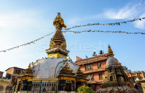Kathesimbhu stupa in Kathmandu, Nepal Stock photo © dutourdumonde