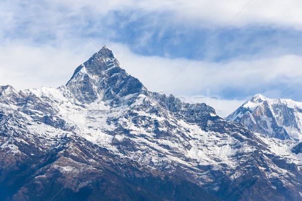 Nepal doğa manzara dağ çevre Stok fotoğraf © dutourdumonde
