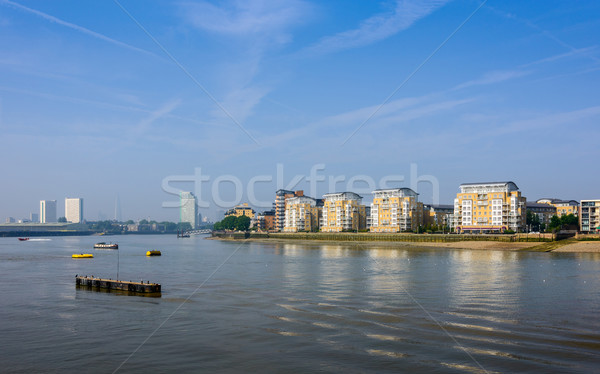 The river Thames in Greenwich, London, UK Stock photo © dutourdumonde