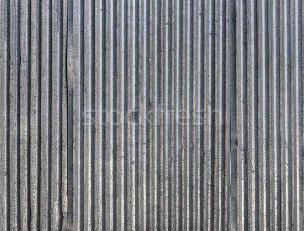 Corrugated steel sheets texture Stock photo © dutourdumonde