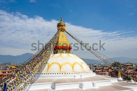 Boudhanath stupa Stock photo © dutourdumonde