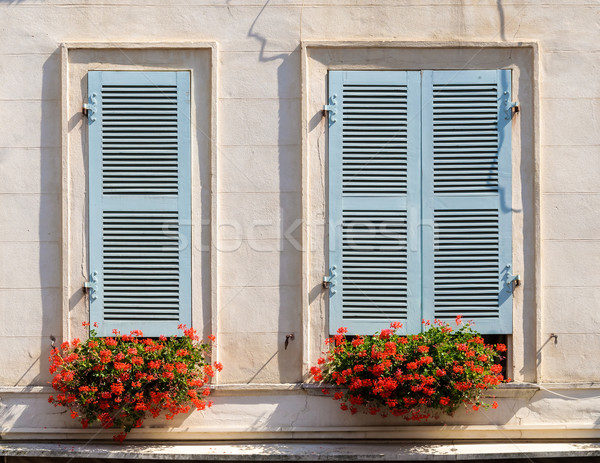 Stock photo: Building facade in Bayonne
