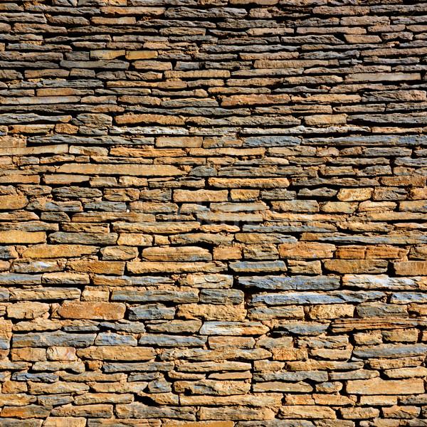 Stock photo: Stone wall