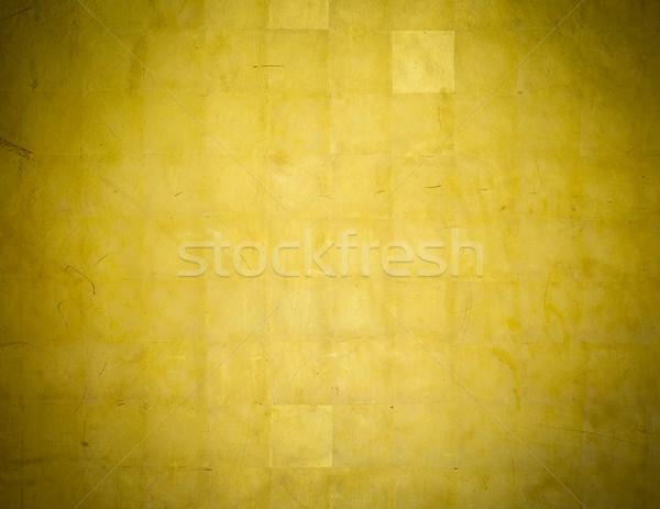 Golden wall background Stock photo © dutourdumonde
