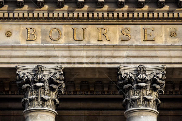 Paris stock exchange Stock photo © dutourdumonde