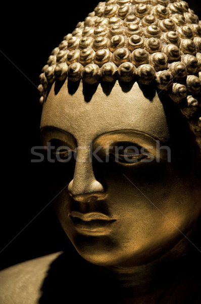Buddha statue or portrait photographie or Photo stock © dutourdumonde