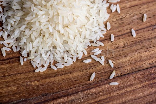 риса древесины текстуры продовольствие фон Сток-фото © dutourdumonde