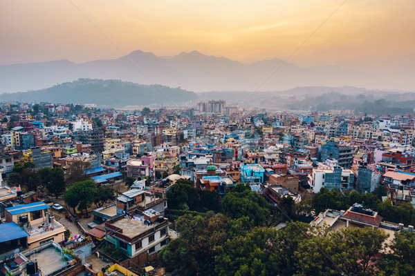 Patan at sunset in Nepal Stock photo © dutourdumonde