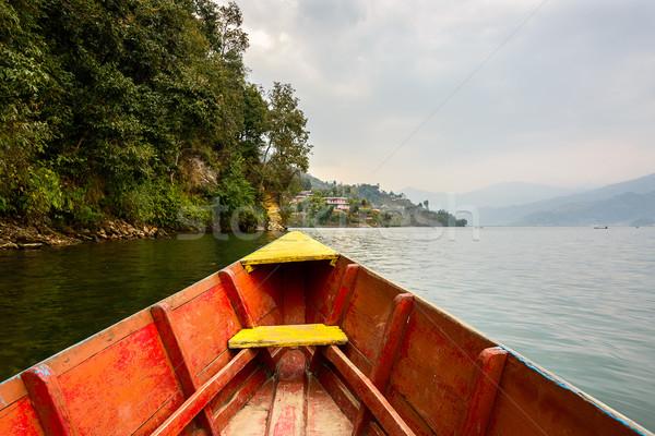 See Natur Berg Reise Boot asian Stock foto © dutourdumonde