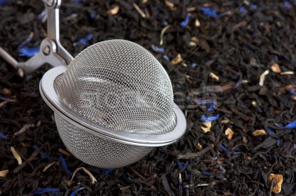 Scented tea and tea ball Stock photo © dutourdumonde